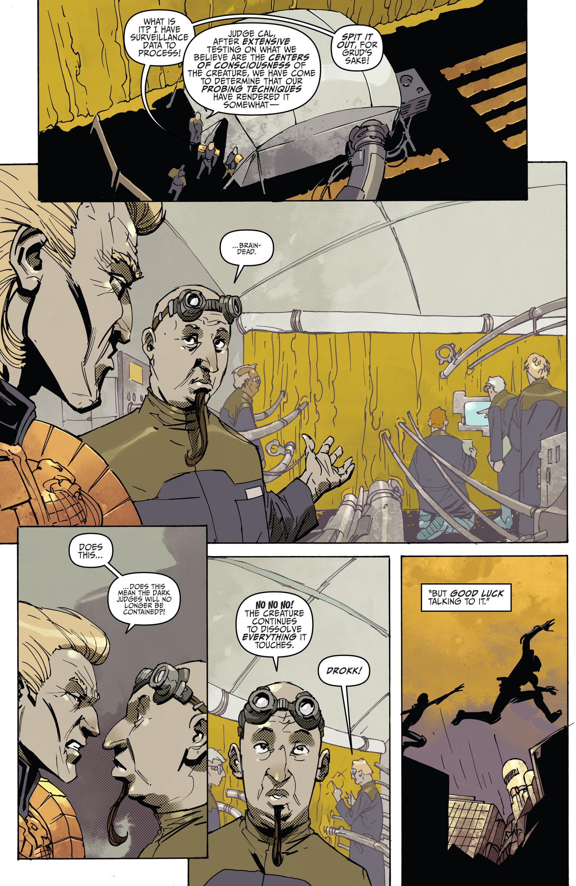 Read online Judge Dredd (2012) comic -  Issue #22 - 18