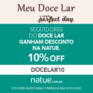 Utilize o cupom DOCELAR10 10% e boas compras!