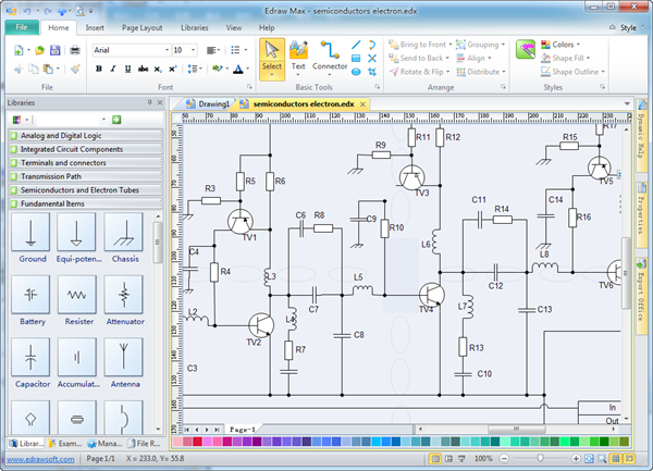 Electrical drawing software free download software zone Free drawing programs