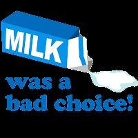latte, cattiva scelta