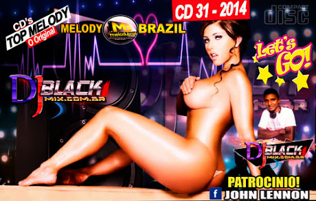 Cd Top Melody Brazil 2014 - Dj Blackmix (CD30)
