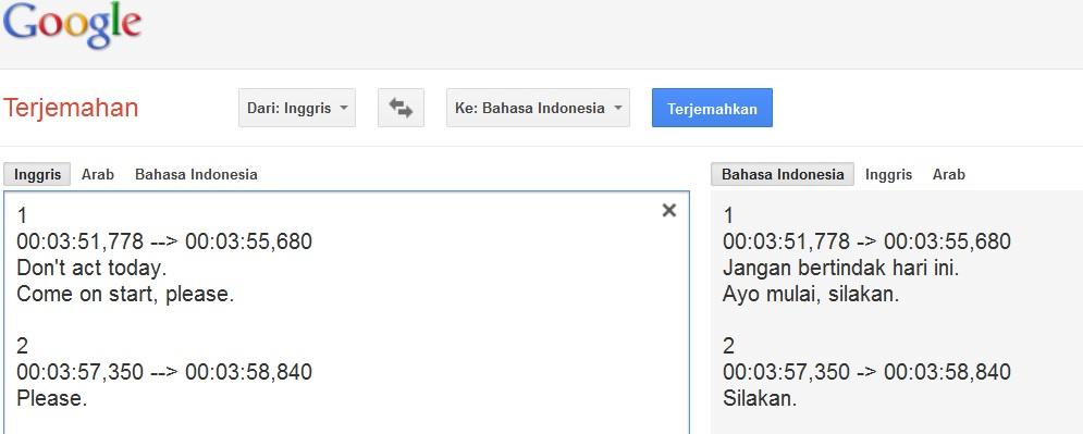 Download Gratis Terjemahan Bahasa Indonesia Ke Bahasa Inggris