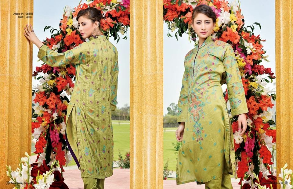 designer ladies spring summer lawn suits