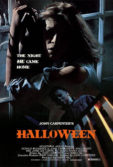 Halloween es una película independiente de terror de 1978 dirigida por John Carpenter y protagonizada por Donald Pleasence y Jamie Lee Curtis.