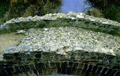 Detalle del 'puente viejo' o 'puente romano' de Zahara