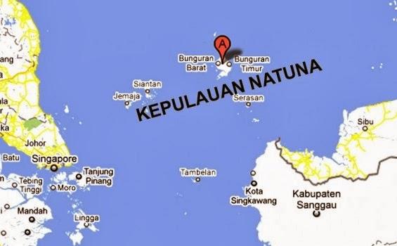 Kedaulatan Udara Natuna Kini Dikuasai Singapura..??