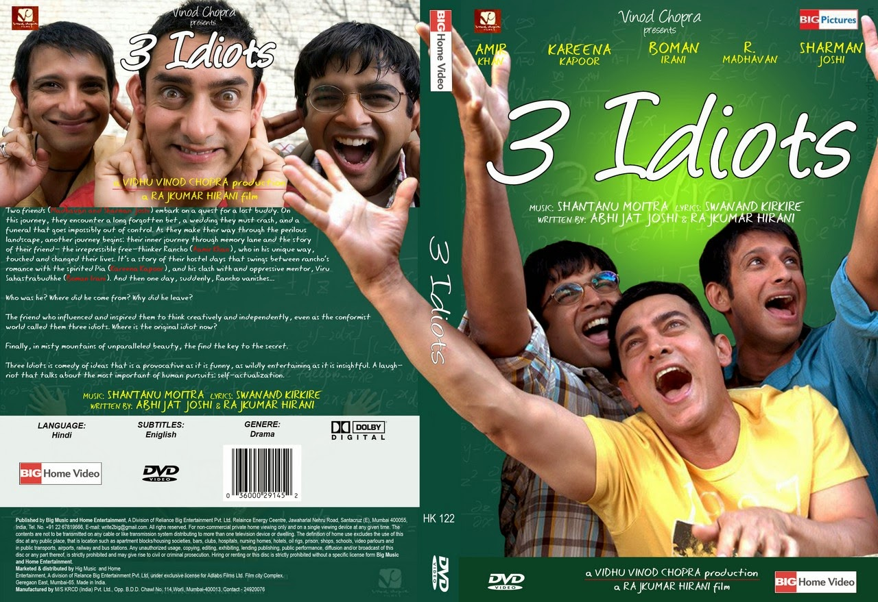 Download 3 Idiots (2009) BluRay 720p
