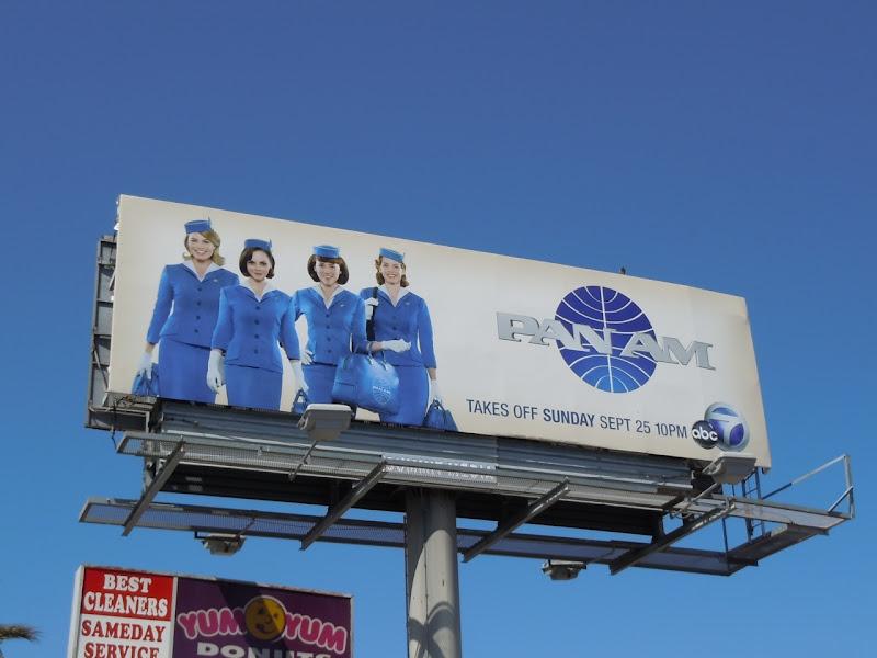 Pan Am TV show billboard