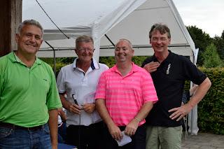 John Walsh guanyador V Open Holanda Pitch & Putt