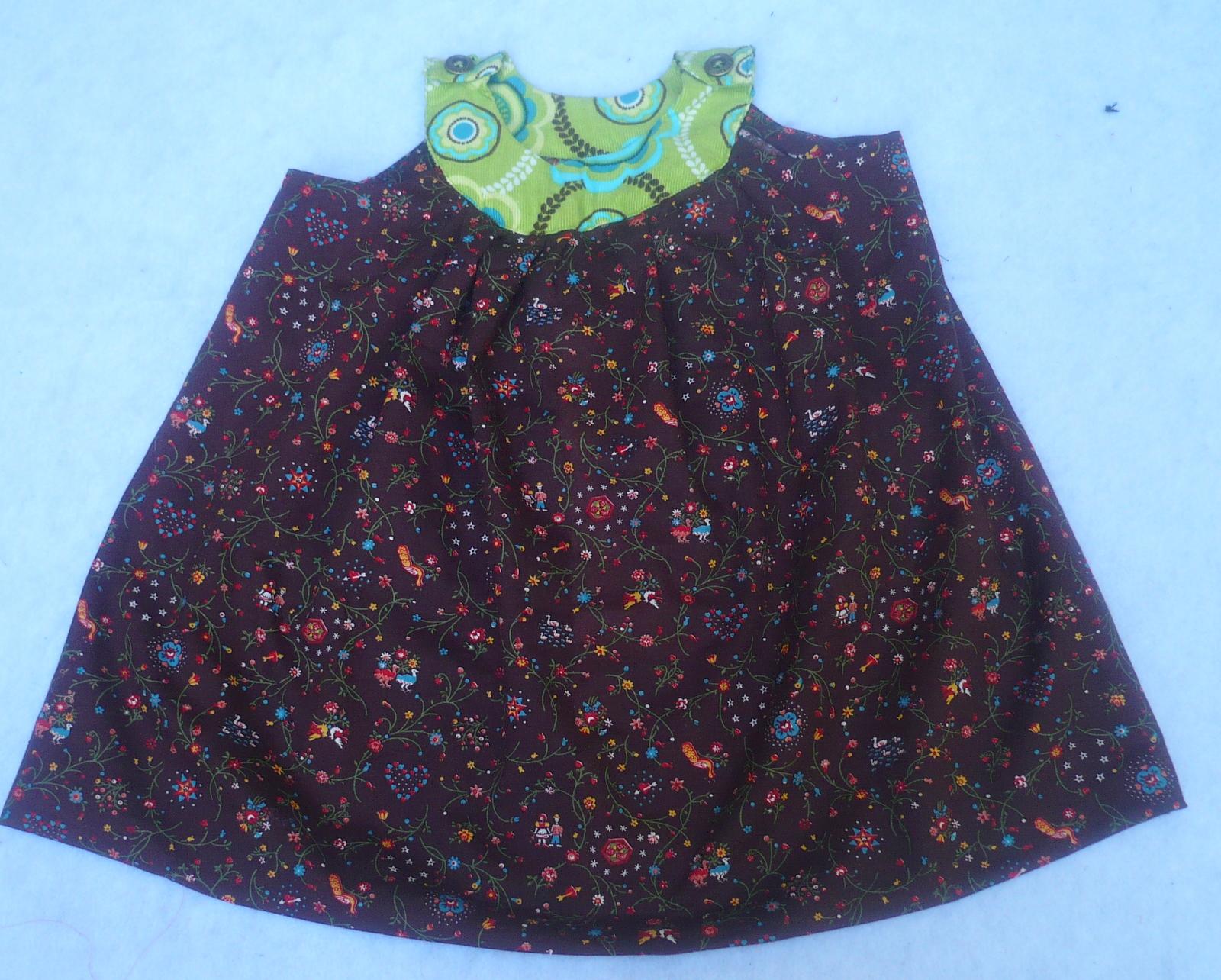 Easy sewing tutorial round yoke dress pattern java beans dress sewing tutorial jeuxipadfo Image collections