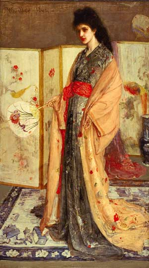japonisme james abbott mcneill whistler princess