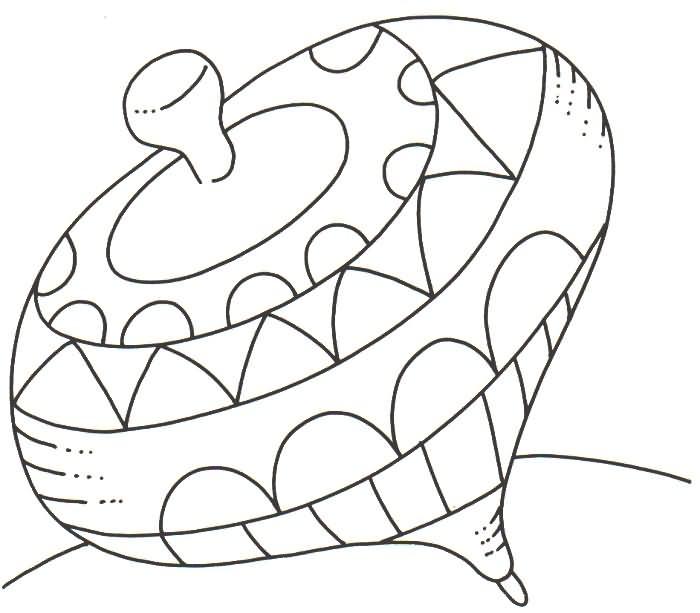 Trompos chilenos para colorear - Imagui