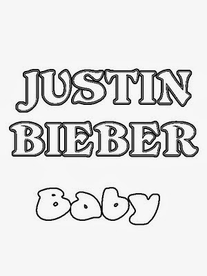 Justin bieber coloring pictures
