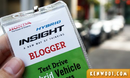 honda insight test drive