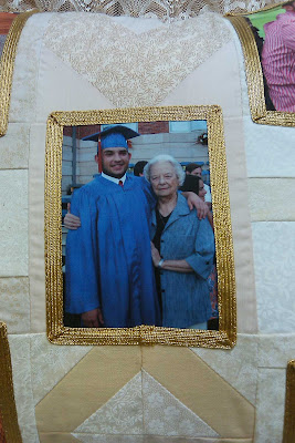 Joe and my mom at graduation last year