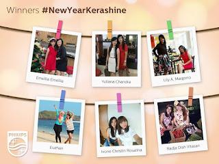 Pemenang Kontes Philips #NewYearKeraShine #StyleYourShine