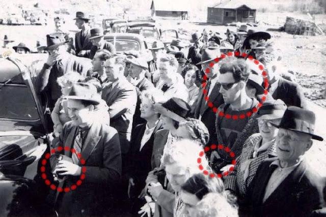 1938 ലെ വീഡിയോയില് മൊബൈല് ഫോണുമായി യുവതി !!! 2