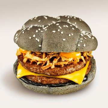 Halloween Ika Sumi Burger