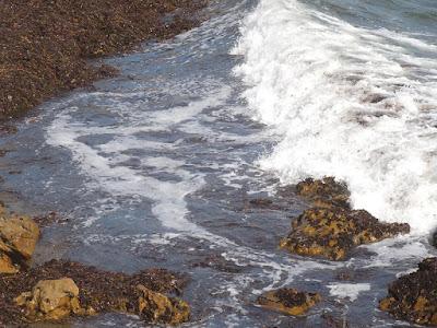 Wave Breaking on Rock at Leffingwell Landing, © B. Radisavljevic
