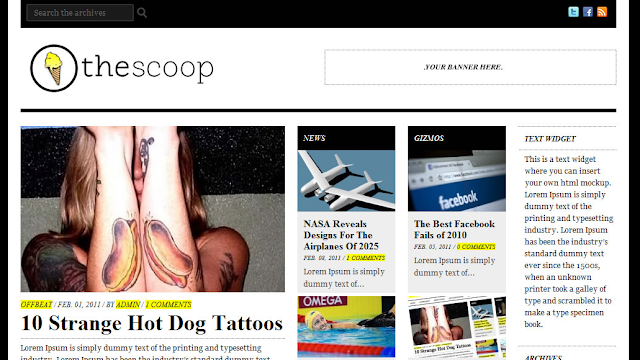 The Scoop News Theme
