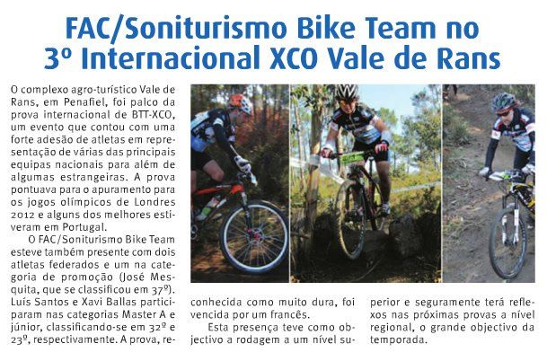 Xco Internacional de Vale de Rans, 19-2-2012
