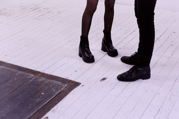 Chunky black boots and shoes, A Study of Hands Friday, October 26 at 6:00pm at China Heights