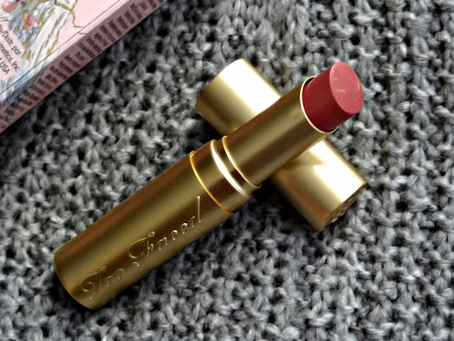 Too Faced La Creme Color Drenched Lip Cream in Cinnamon Kiss Review, Photos & Swatches