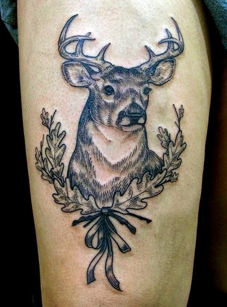 The Best Deer Tattoos