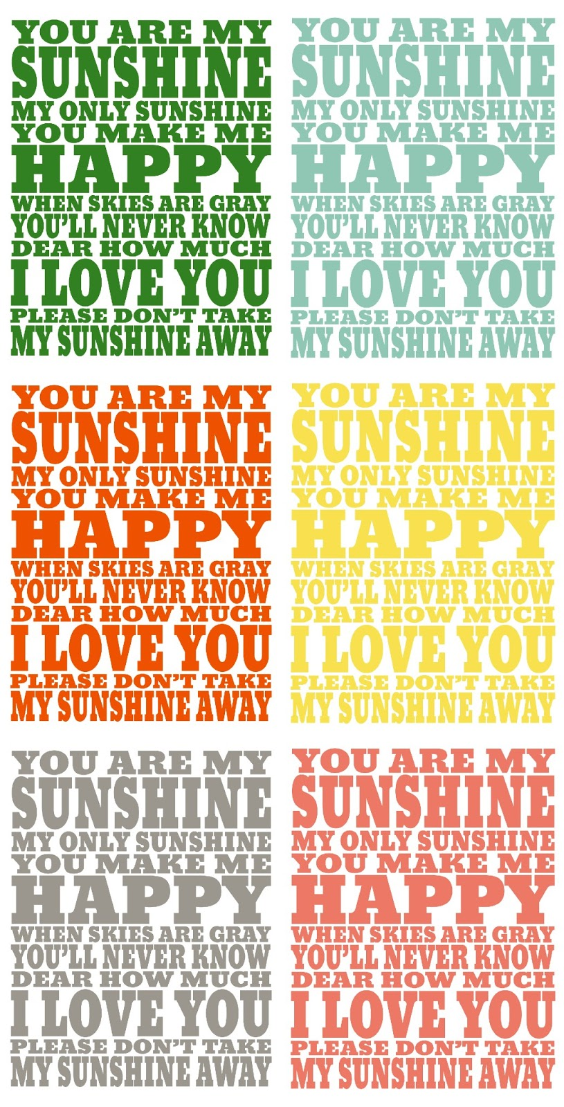 image regarding You Are My Sunshine Printable named Yourself Are My Sun Print - 1825