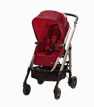 Roja silla de paseo bebé  new loola