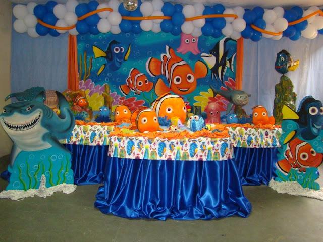 Tema de aniversário infantil - Nemo