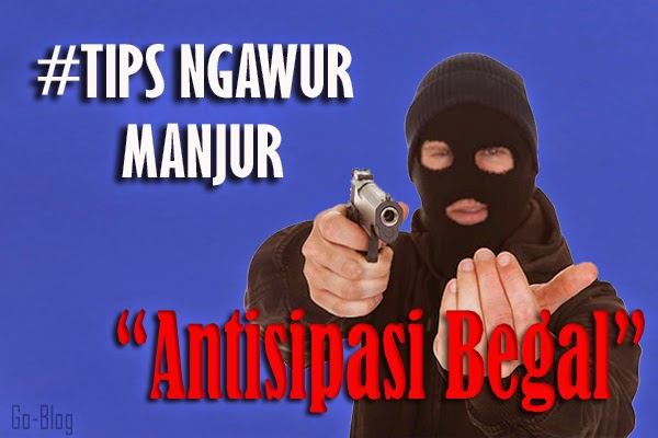 antisipasi begal, tips