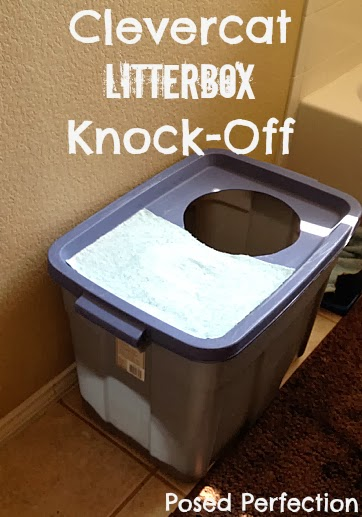Clevercat Litterbox Knock-Off-Top 10 Crafts/DIY/Tips of 2014