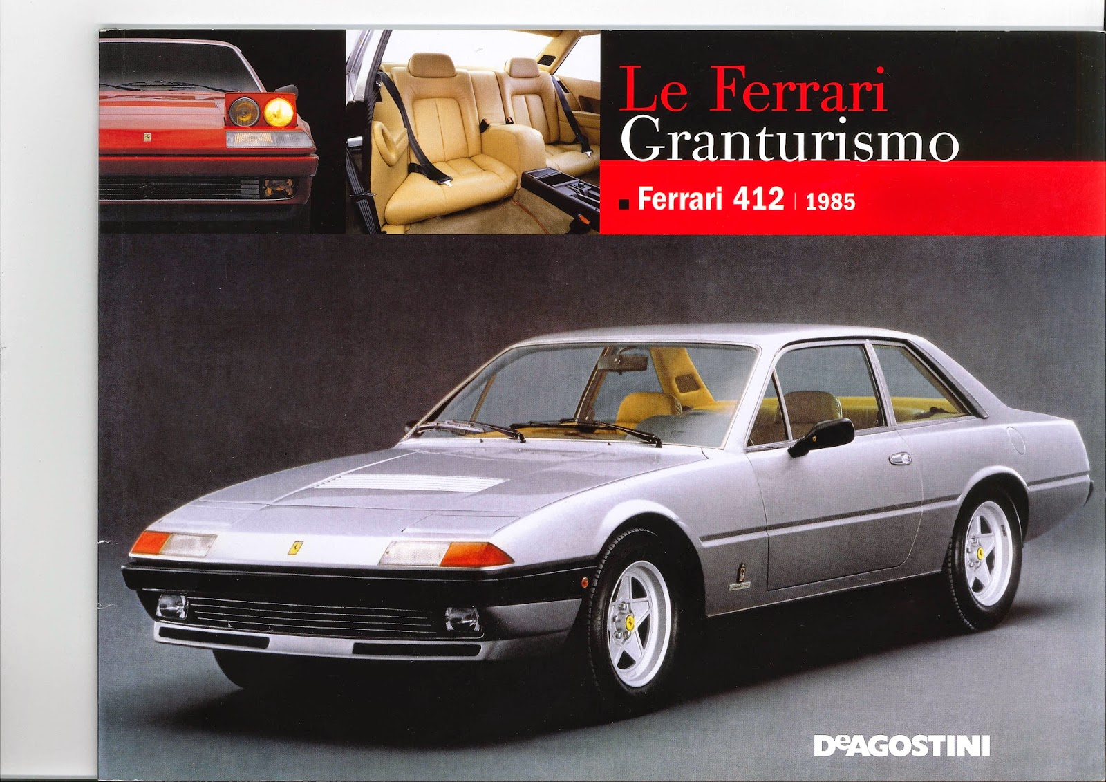 Ferrari 400 august 2014 but it was not worth it in my opinion i couldnt be bothered to scan it entirely the content is more or less a copy of the 412 brochure vanachro Gallery