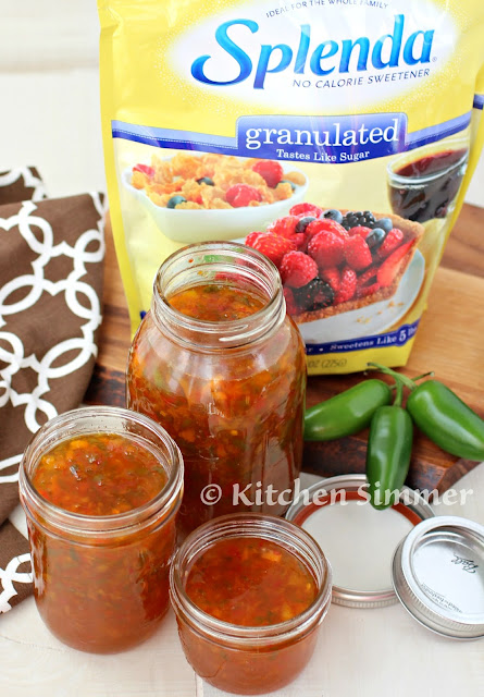 how to make sweet hot jam