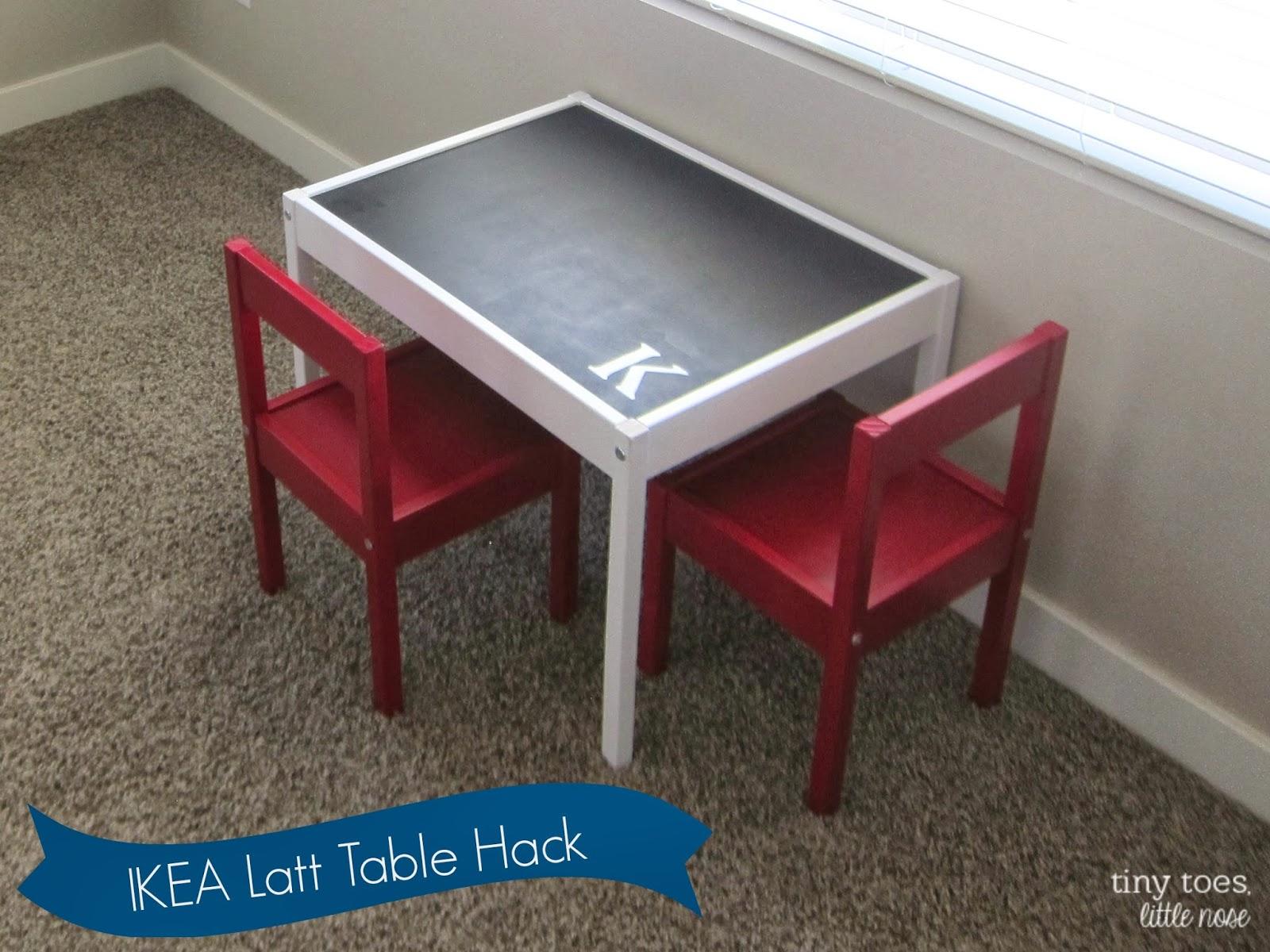 IKEA Latt Table Hack