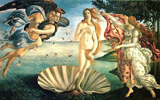 Nacimiento de Venus- Botticelli