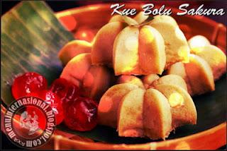 Cara Membuat Kue Bolu Sakura Kismis Karamel Enak dan Lembut