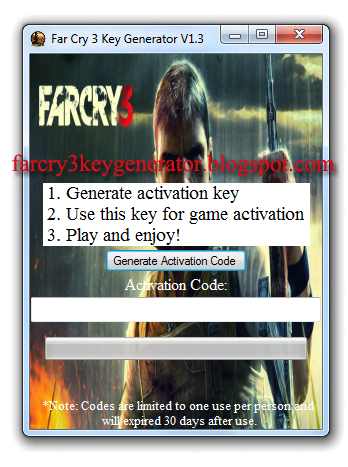 far cry 3 activation code crack