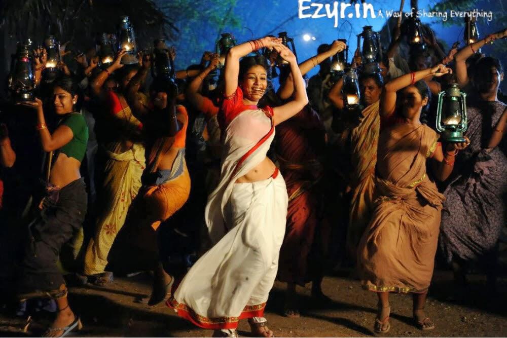Nayana Tara Hot Dance in Saree Stills