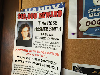 Posters Up for 25th Anniversary of. unsolved Murder