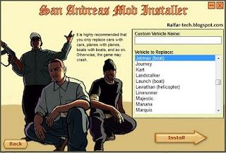 Mod Grand Theft Auto San Andreas PC
