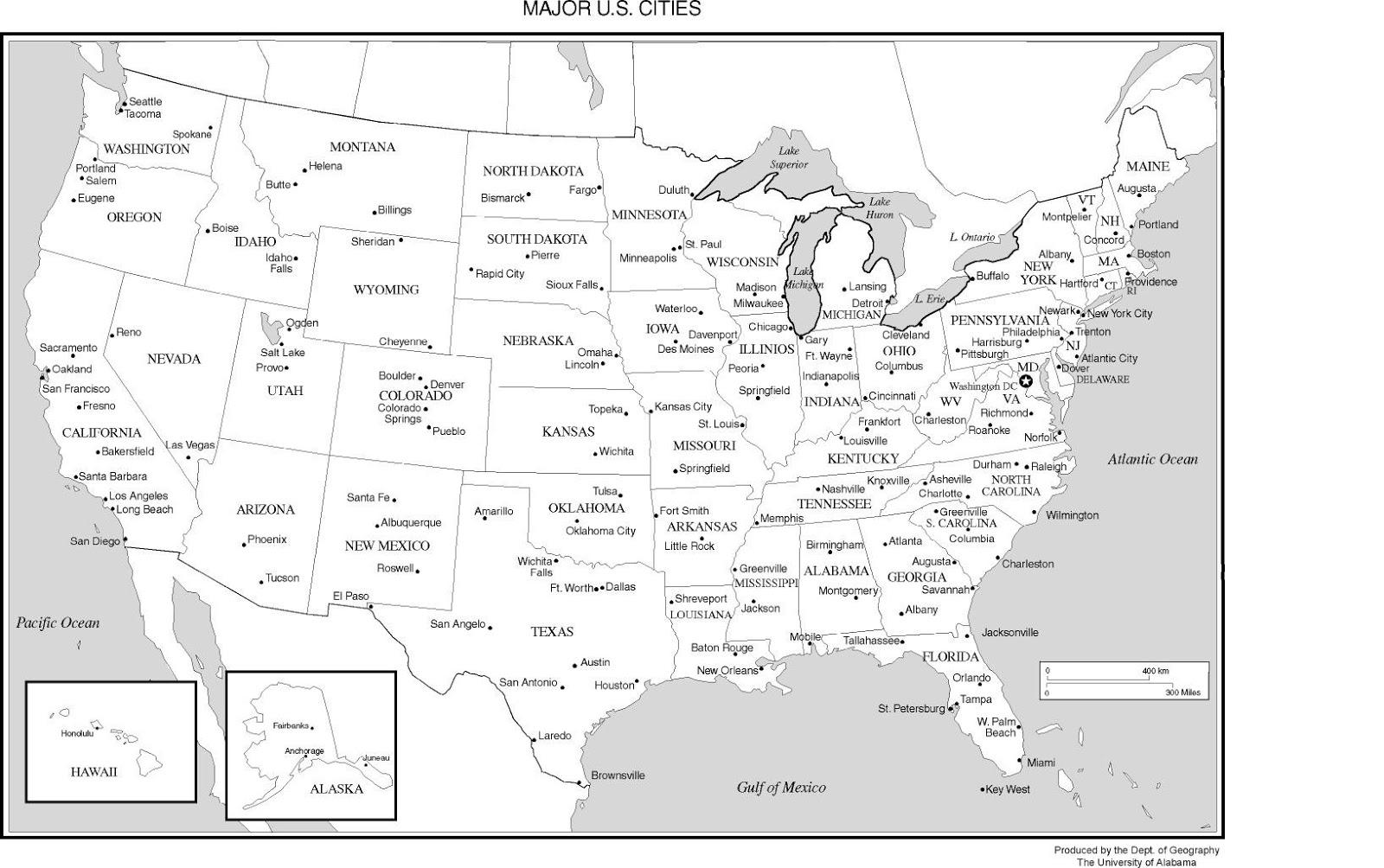 Printable Usa Blank Map Pdf