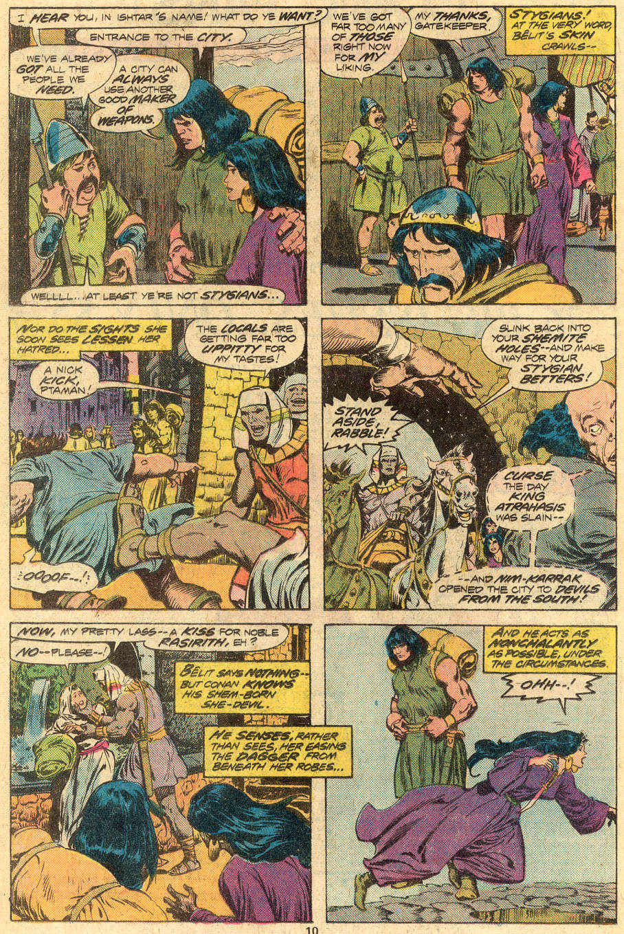 Conan the Barbarian (1970) Issue #72 #84 - English 7