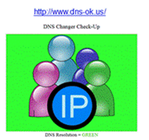 Check yout DNS Changer
