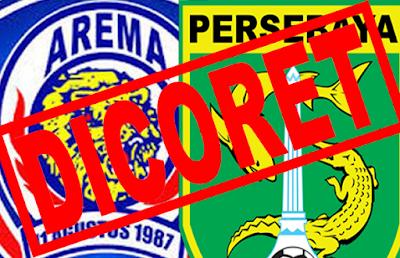BOPI Coret Arema dan Persebaya dari ISL 2015