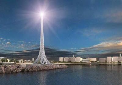 沙國搶建世界第一高樓 1600米 王國塔