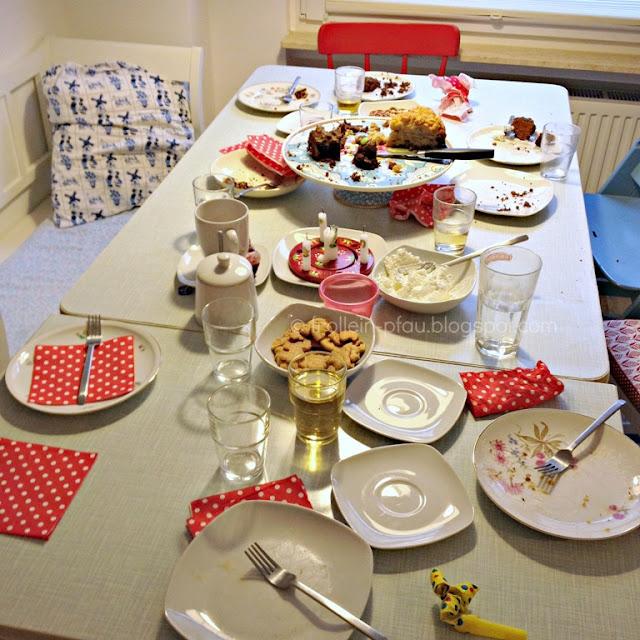 Das echte Leben, real life, Kindergeburtstag, Geburtstag, Küchenchaos, Küchenschlacht, Kuchen