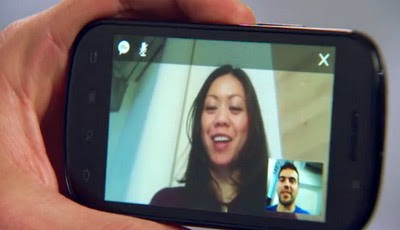 Google Talk with video and voice chat for Android