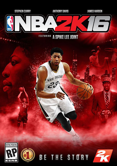 NBA 2K16 Cover Anthony Davis